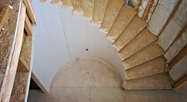 Как согнуть гипсокартон и профиль для его крепления - пошаговая фото инструкция