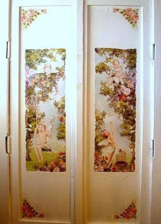 Декор дверей своими руками — лучшие идеи