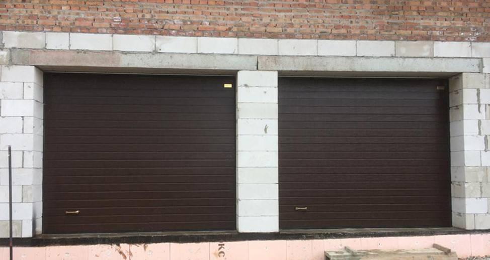 Как сделать гаражные ворота своими руками: чертежи, фото