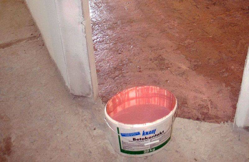 Применение и технические характеристики грунтовки бетоноконтакт