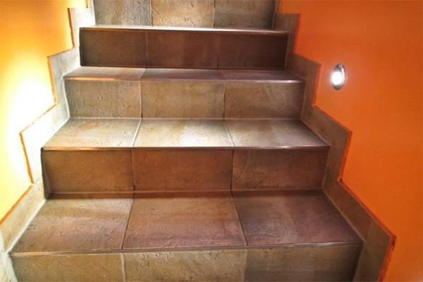 Как производится отделка лестницы ламинатом + обшивка ступенек своими руками