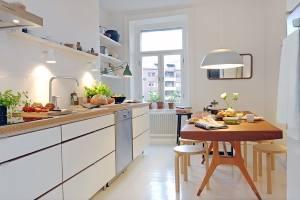 Кухня в скандинавском стиле 2021 - 35 фото оригинальных идей