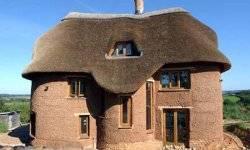 Как построить глинобитный, быстровозводимый каркасный дом своими руками: утепление глиной+солома — видео