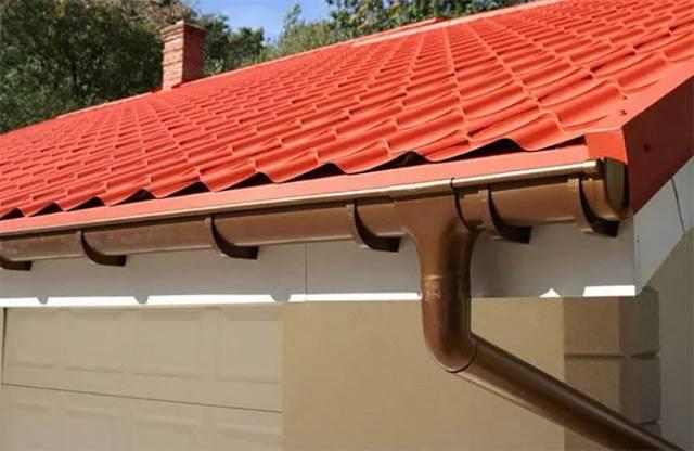 Как установить водостоки, если крыша уже покрыта устанавливаем правильно водостоки своими руками, выбрав подходящий вариант