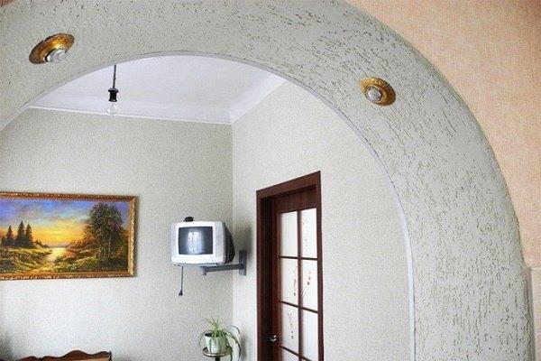 Арка в межкомнатный дверной проем: виды и варианты оформления