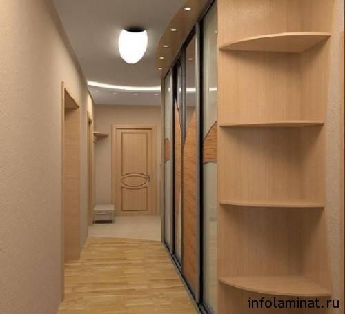 Укладка ламината в узком коридоре: подготовка поверхности, инструкция