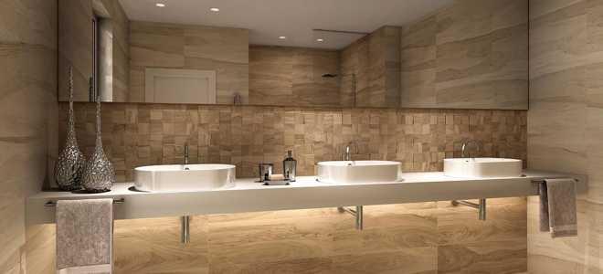 Керамогранит для ванной комнаты (60 фото): коллекции керамогранита для отделки стен и пола, идеи дизайна интерьера, обзор производителей из россии