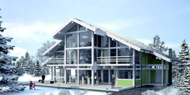 Фасады финских домов ( 41 фото): дизайн строения снаружи в финском стиле