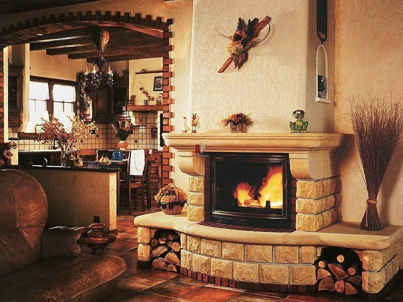 Камин-печь для дачи (61 фото): небольшая печка из кирпича для дома, железная с варочной поверхностью бавария