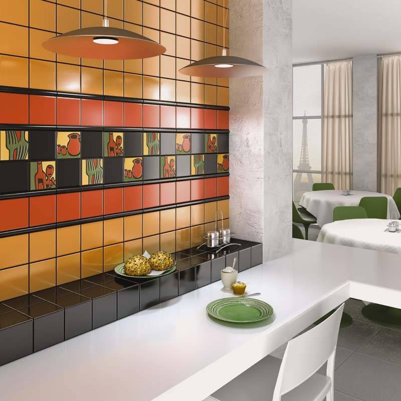 Укладка плитки на кухне: делаем фартук своими руками