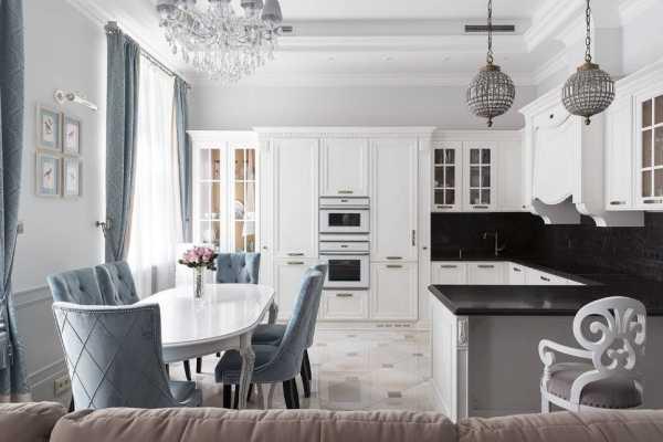 Маленькая кухня-гостиная: 40 фото, гид по дизайну
