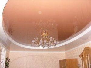 Монтаж двухуровневого натяжного потолка (9 фото)