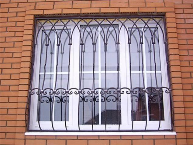 Установка решёток на окна: советы по выбору и монтажу