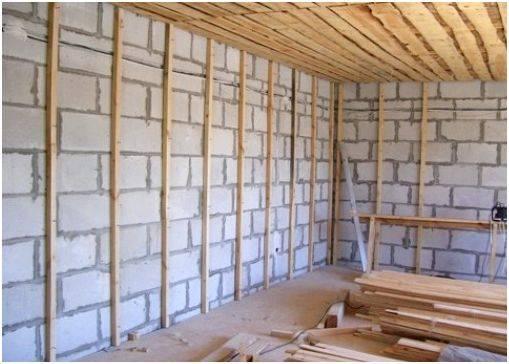 Внутренняя отделка дома из пеноблоков: проверенные способы