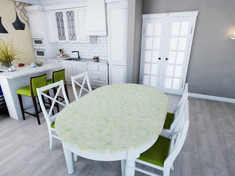 Стол в гостиную: 100 фото красивых идей в дизайне интерьера
