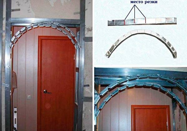 Арка своими руками: 90 фото как установить красивую арку из гипсокартона, дерева или металла