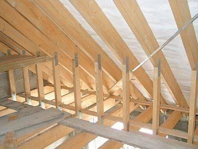 Как построить стропила для крыши: двускатной, бани – виды, расчёт, монтаж, своими руками