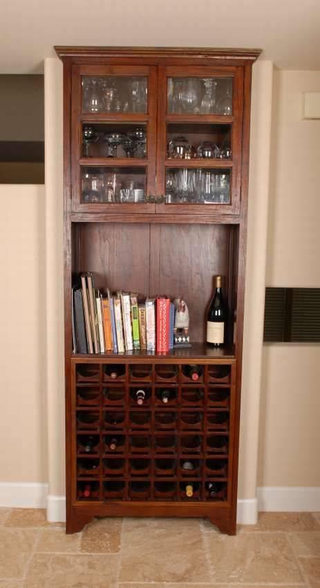 Винный шкаф своими руками из подручных материалов