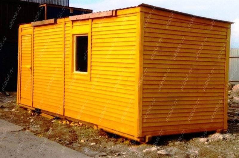 Строительство сарая с односкатной крышей своими руками