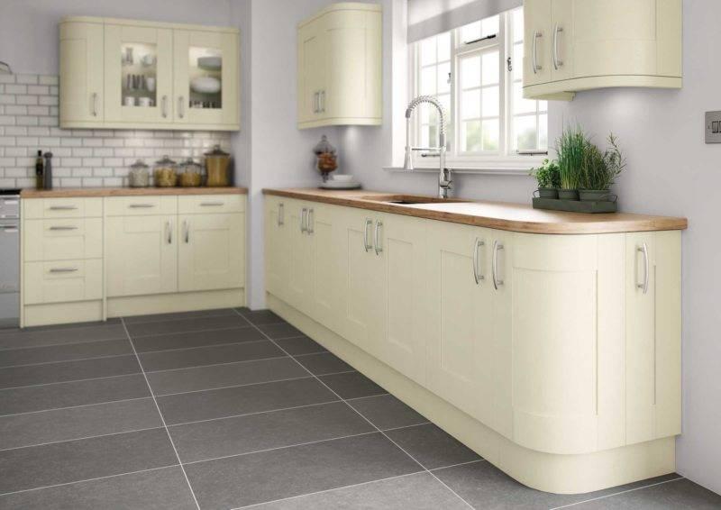 Какого цвета подобрать стены к кухне цвета слоновая кость