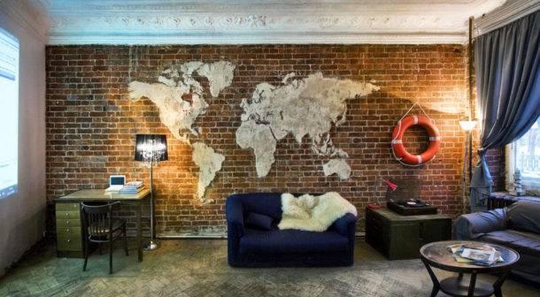 Оригинальные идеи дизайна стен в гостиной