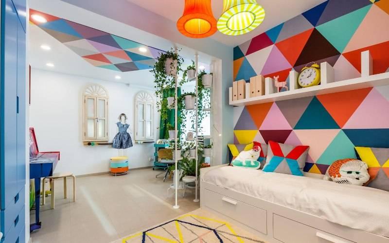 Комната для двух девочек: дизайн, зонирование, планировки, отделка, мебель, освещение