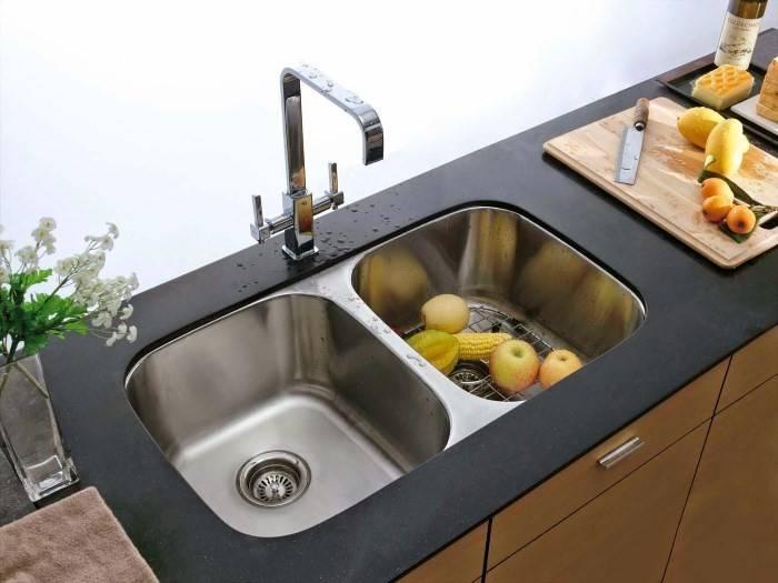 Двойная кухонная раковина – двойное удобство на кухне