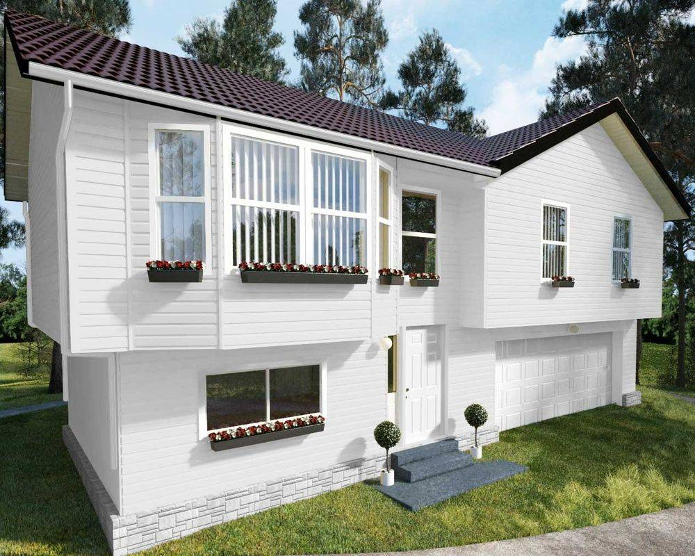 Отделка дома сайдингом снаружи: фото красивых зданий, обшитых панелями разных расцветок, варианты различных дизайнерских решений