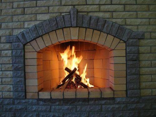 Как установить печь камин в доме видео