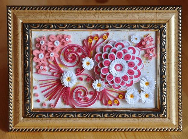 Цветы в технике квиллинг (41 фото): пошаговые схемы объемных поделок для начинающих, мастер-классы. как сделать картину с цветами и букет?