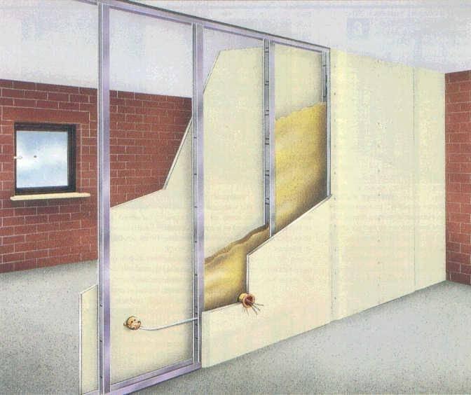 Проем в стене под дверь