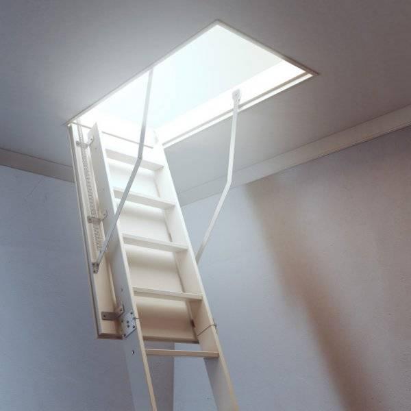 Мансардная лестница: многообразие конструкций