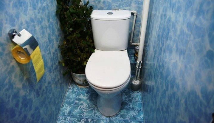 Фото отделки туалета пластиковыми панелями: идеи дизайна