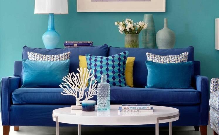 Бирюзовый цвет в интерьере: 75 свежих идей дизайна