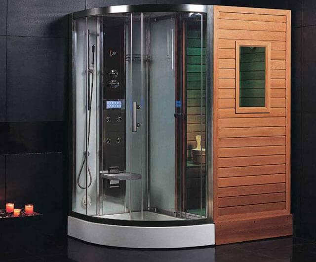 Домашняя сауна в квартире: электрическая мини сауна в ванной комнате, компактная печь, как сделать маленькую встроенную сауну в доме, фото и видео