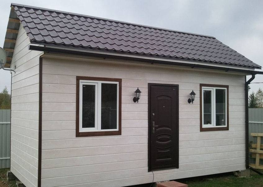Маленькие каркасные дома (до 60 м2) для постоянного проживания