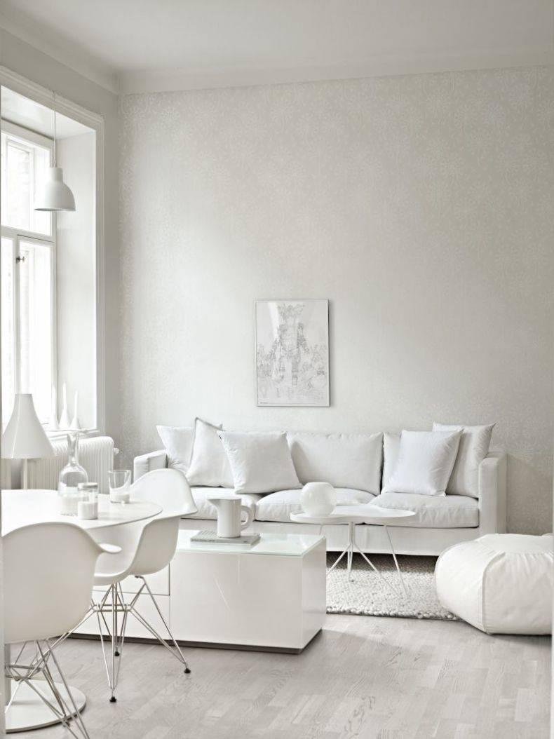 Гостиная в серо белых тонах (фото)
