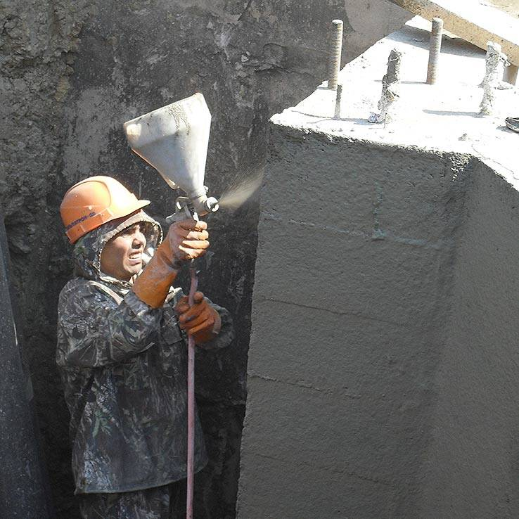 Цементная гидроизоляция: обмазочная, полимерная