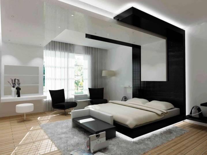 Спальня в стиле модерн (68 фото) дизайн интерьера, белая итальянская модульная спальня - stanremont.ru