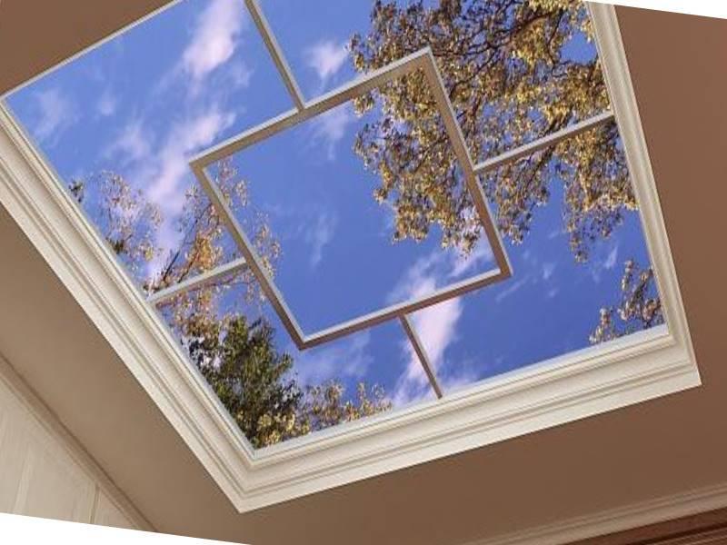 Потолки 3d, панели 3d для потолка (22 фото)