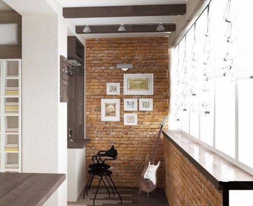 Основные стили и цветовая гамма в интерьере балкона и лоджии: 19 фото