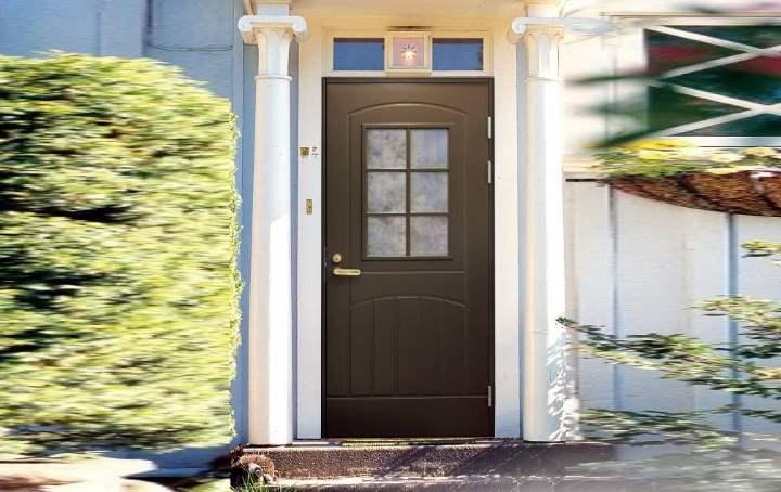 Финские входные двери для загородного дома: железные и деревянные