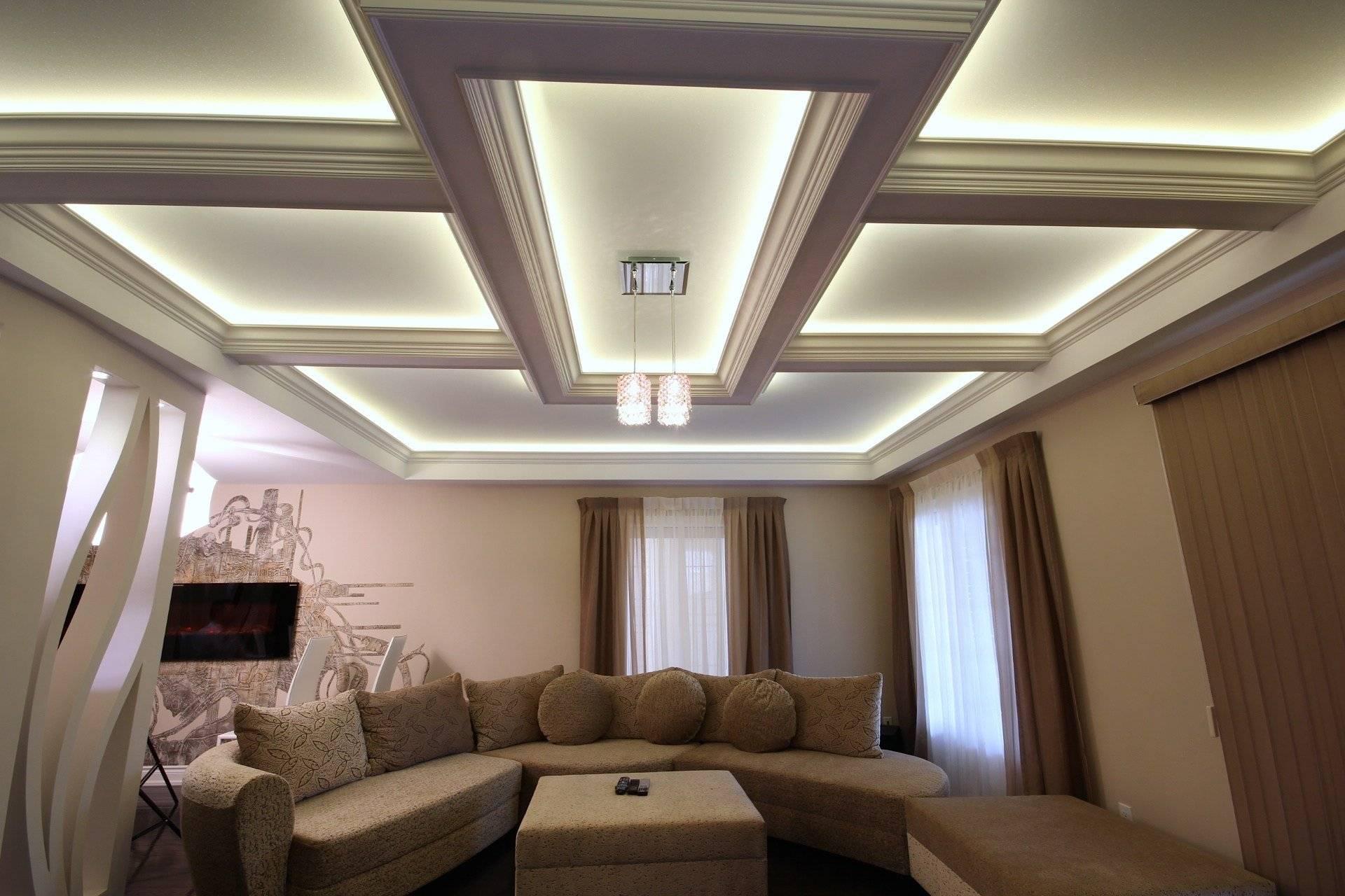 Чем отделать низкий потолок в частном доме - всё о ремонте потолка