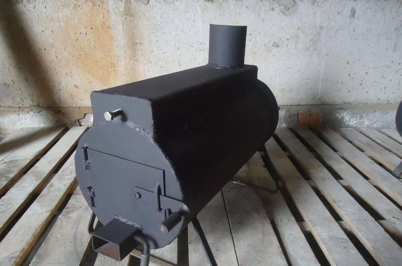 Буржуйка в гараж (68 фото): как сделать своими руками печь на дровах, как правильно установить дымоход