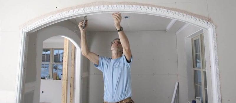 Как сделать красивую арку в дверных проемах своими руками: пошаговая инструкция, фото, видео, дизайн интерьера, арки из гипсокартона на кухне и в прихожей » интер-ер.ру