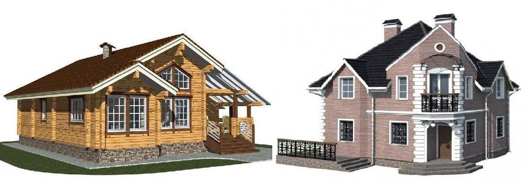 Плюсы и минусы комбинированных домов