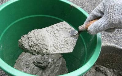 Как развести цемент: пропорции, какой должен быть цемент разведенный