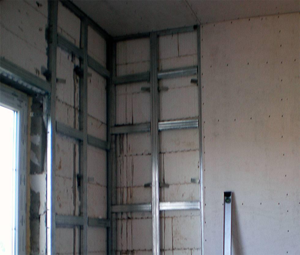 Как сделать стену из гипсокартона своими руками: схема, технология, монтаж