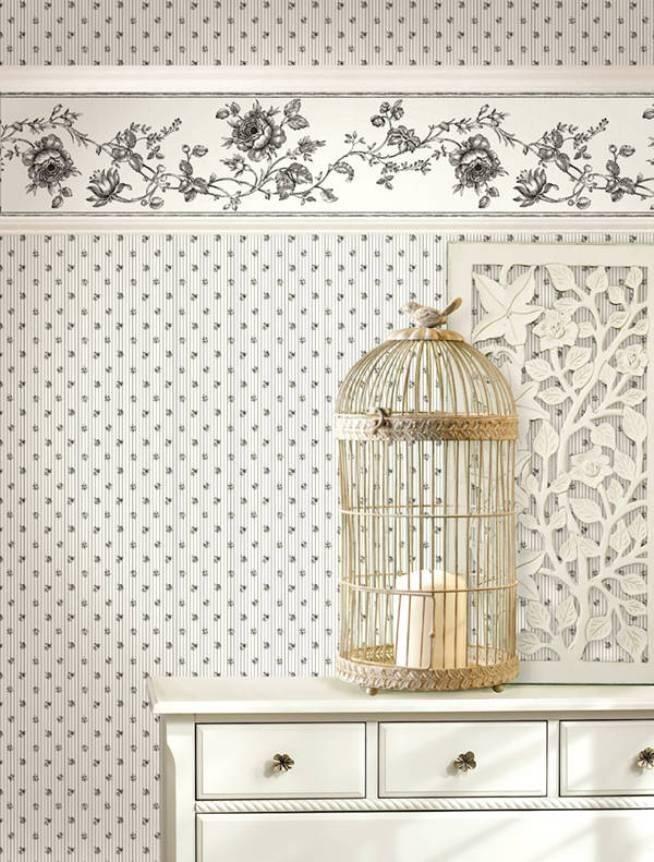 Бордюр для обоев — советы по выбору и размещению окантовки на стенах