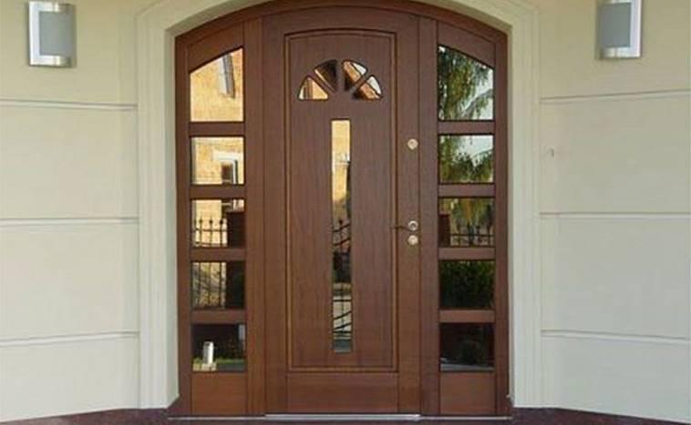 Входные железные двери для частного дома: размеры металлических уличных моделей для загородного коттеджа